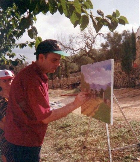 Pintando en directo
