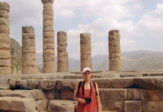 Visitando Delfos (Grecia)