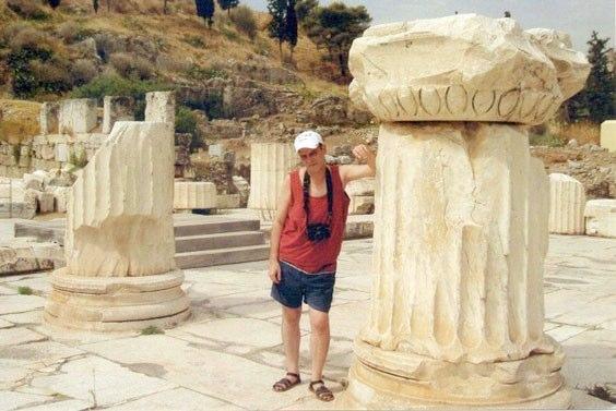 En las ruinas de Eleusis (Grecia)