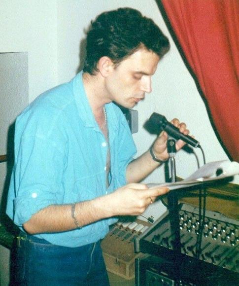 "Audición de la obra ""Akelarre""  1988"