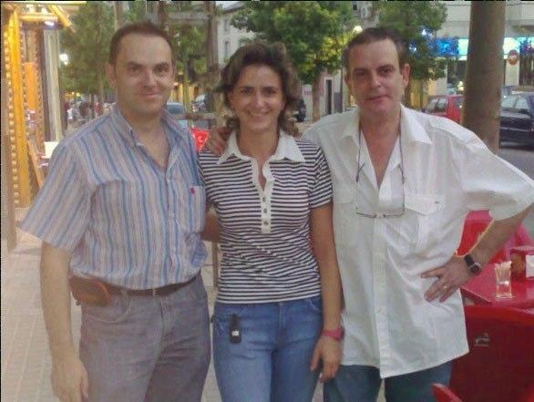 Sebastián y Margarita, su hermano y hermana respectivamente