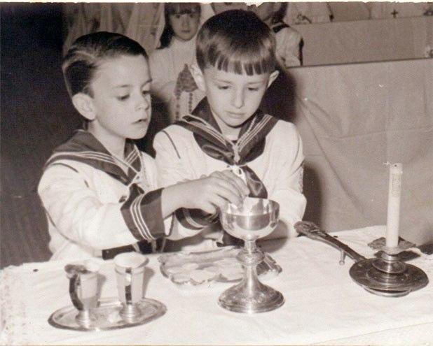 Su primera comunión 1967
