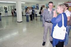 """Presentación de la muestra  """"El Mundo a un sólo Trazo """" 21 al 27 de Junio 2010 Palma de Mallorca"""