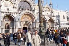 Durante su estancia en Venecia (Italia) 2006