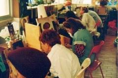 Su primer taller de pintura 1997