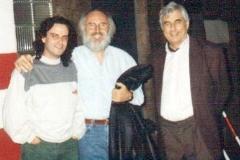 Con Félix Gracia y Antonio Bennassar