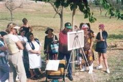Clase de pintura al aire libre