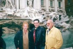 En Roma junto con María Garau y Antonio Pol