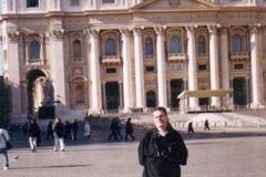 En la ciudad del Vaticano 1998