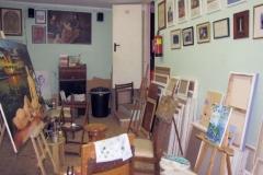 Su estudio en Can Pastilla (Baleares) 2009