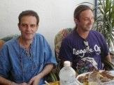 Junto con Jaume Andreu, técnico electrónico informático del observatorio  astronómico de Mallorca