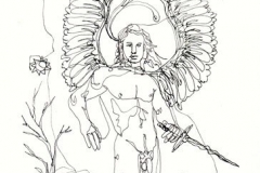 Ángel 2. Dibujo a 1 Trazo