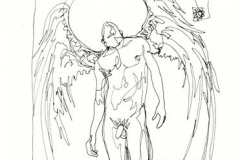 Ángel 3. Dibujo a 1 Trazo