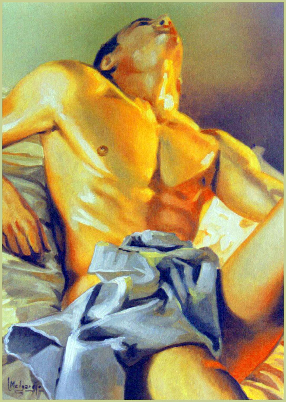Inspiración Óleo sobre lienzo 33 x 24