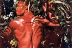 Desnudo Masculino Óleo sobre lienzo