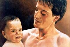 Paternidad Óleo sobre lienzo