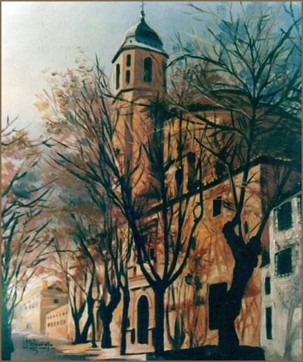 Iglesia del Salvador (Úbeda). Óleo sobre lienzo