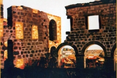 "Ruinas de  ""Madre de Dios"" (Úbeda). Óleo sobre lienzo"