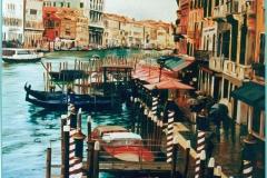 Venecia. Óleo sobre lienzo 73 x 60