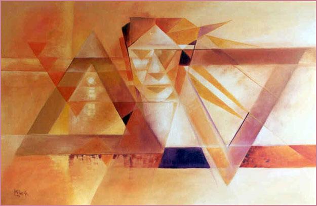 Azrael Óleo. sobre lienzo
