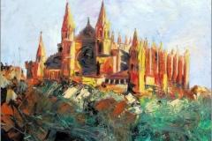 Catedral de Palma. Espátula 55 x 46