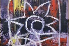 Logo del autor. Espátula 33 x 24