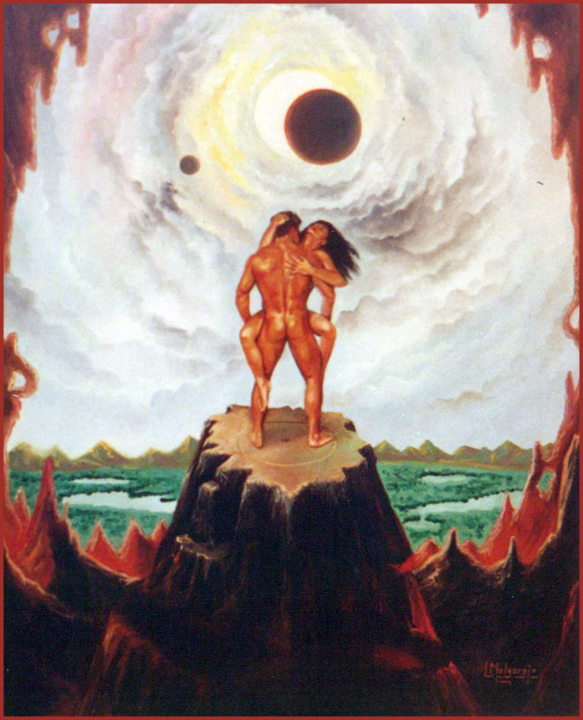 Eclipse. Óleo sobre lienzo 55 x 46