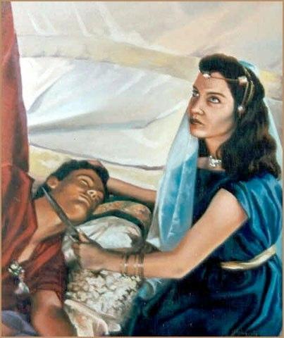 Judith Óleo sobre lienzo