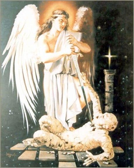 Ángel Miguel Óleo sobre lienzo 73 x 60