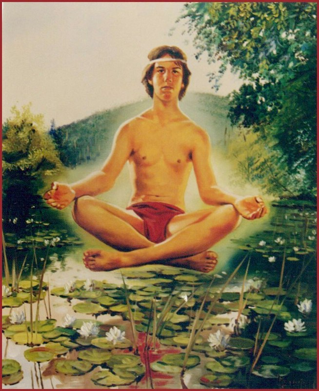 Siddharta Óleo sobre lienzo 61 x 50