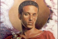 Chamuel Óleo sobre lienzo
