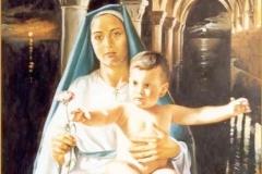 Madonna Óleo sobre lienzo
