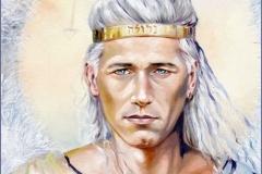 Sandalphon Óleo sobre lienzo 46 x 38