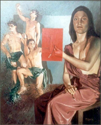 Alegoría del símbolo Óleo sobre lienzo