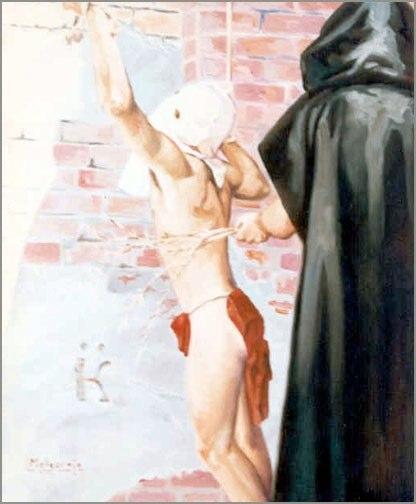 El Iniciado Óleo sobre lienzo