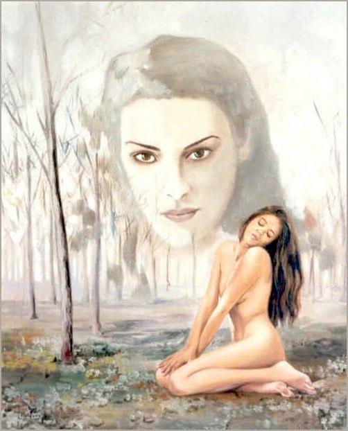 Feminidad Óleo sobre lienzo