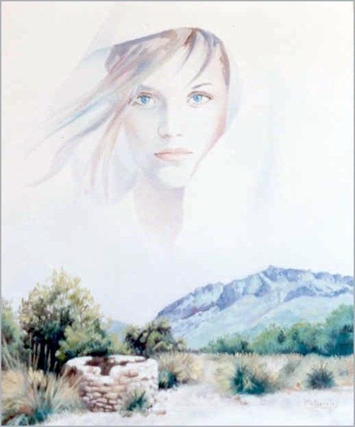 Olvido Óleo sobre lienzo 61 x 50
