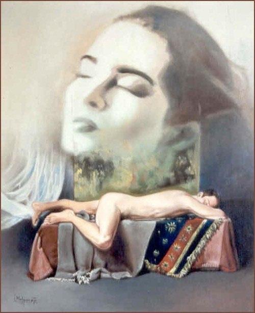 Sueño Óleo sobre lienzo