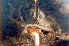 La gruta Óleo sobre lienzo
