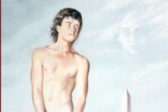 Meditación Óleo sobre lienzo 73 x 60