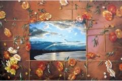 Los 36 Mundos de Adonay Óleo sobre lienzo