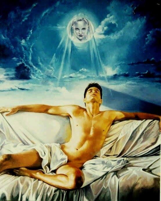 Mito de Endimión Óleo sobre lienzo 92 x 73