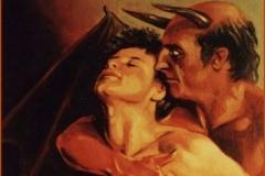 Belial Óleo sobre lienzo 33 x 24
