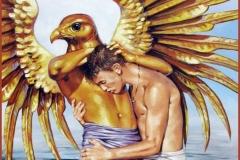 Mito de Ganímedes Óleo sobre lienzo 61 x 50