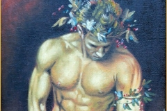 Priapo Óleo sobre lienzo 33 x 24