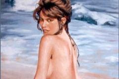 Venus al Sol Óleo sobre lienzo