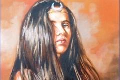 Diana Óleo sobre lienzo 33 x 24
